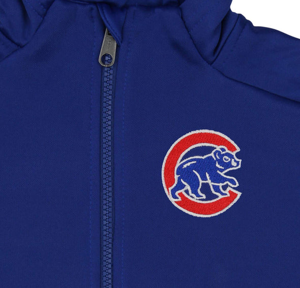 Outerstuff MLB Youth/Kids Chicago Cubs Performance Full Zip Hoodie