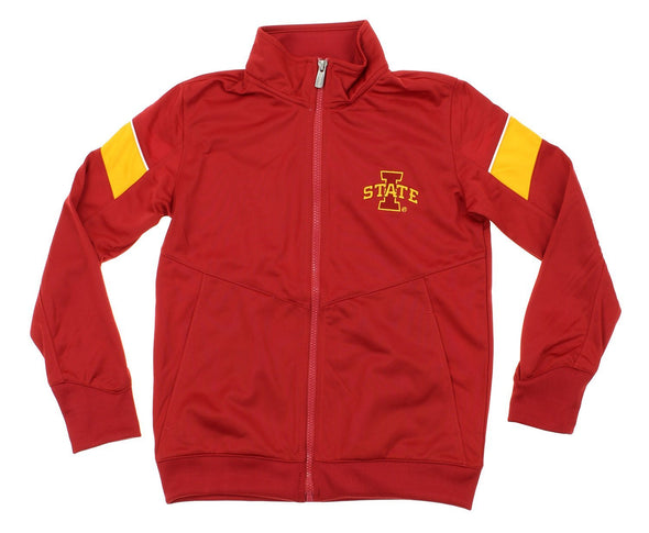 NCAA Youth Iowa State Cyclones Precision Zip Up Track Jacket