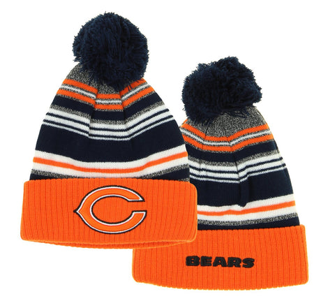 NFL Chicago Bears Legacy Multi-Stripe Yarn Hat, OSFM