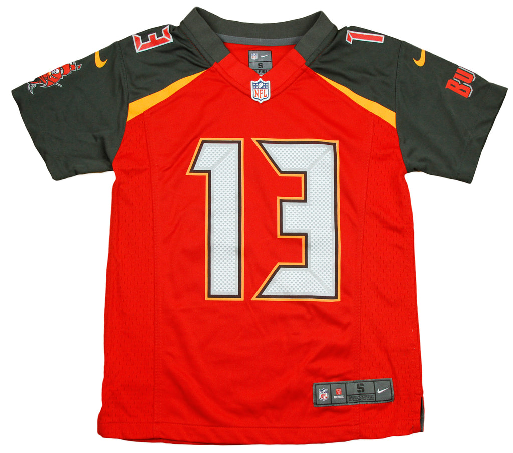 info for 353db 2ca18 Nike NFL Youth Tampa Bay Buccaneers Mike Evans # 13 Game Day Jersey - Red