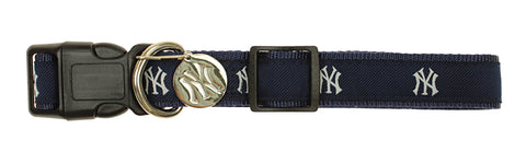 Sporty K9 MLB New York Yankees Ribbon Dog Collar