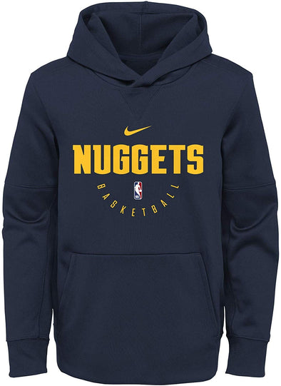 Nike NBA Basketball Youth Denver Nuggets Spotlight Pullover Hoodie