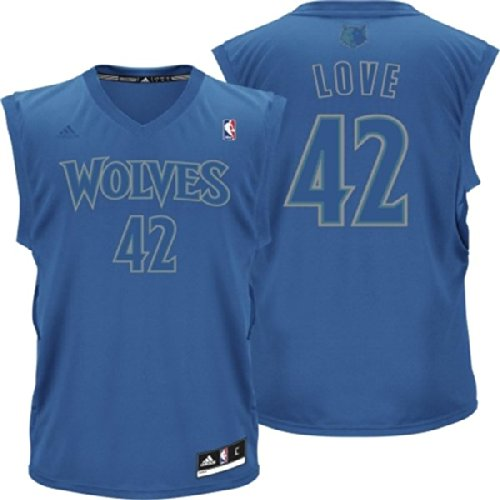 brand new a3daf ffd28 Adidas NBA Youth Minnesota Timberwolves Kevin Love # 42 Winter Replica  Jersey