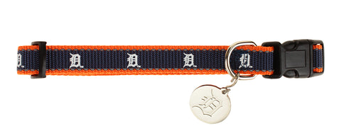 Sporty K9 MLB Detroit Tigers Reflective Dog Collar