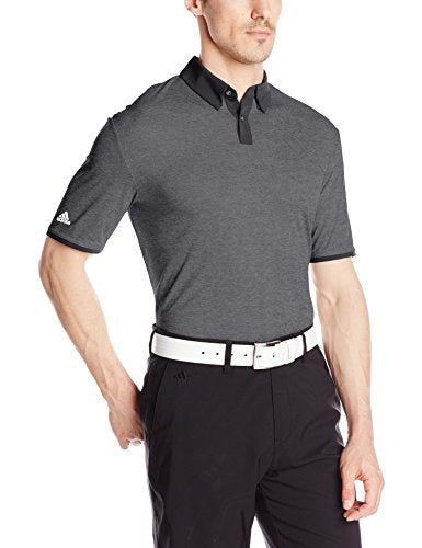 Adidas Golf Men's Climachill Heather Solid Polo Shirt - Many Colors