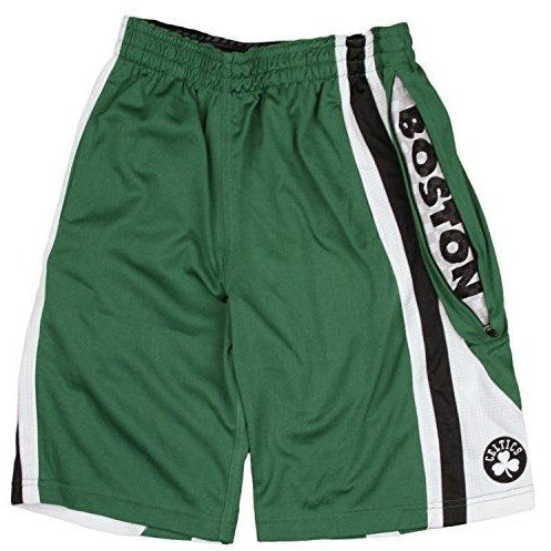Zipway NBA Youth Boston Celtics Team Athletic Basketball Shorts, Green
