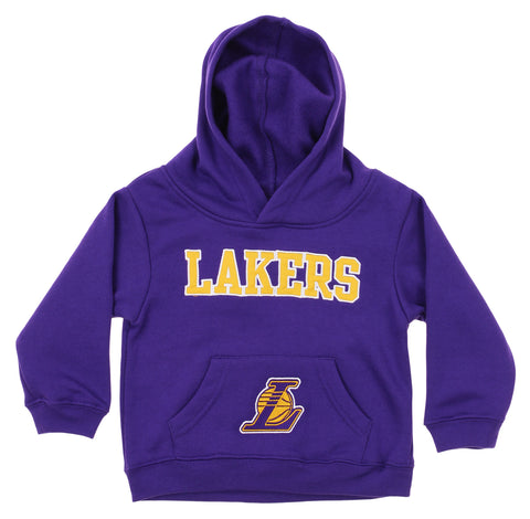 free shipping a8436 9f19a OuterStuff NBA Infant and Toddler s Los Angeles Lakers Fleece Hoodie, Purple