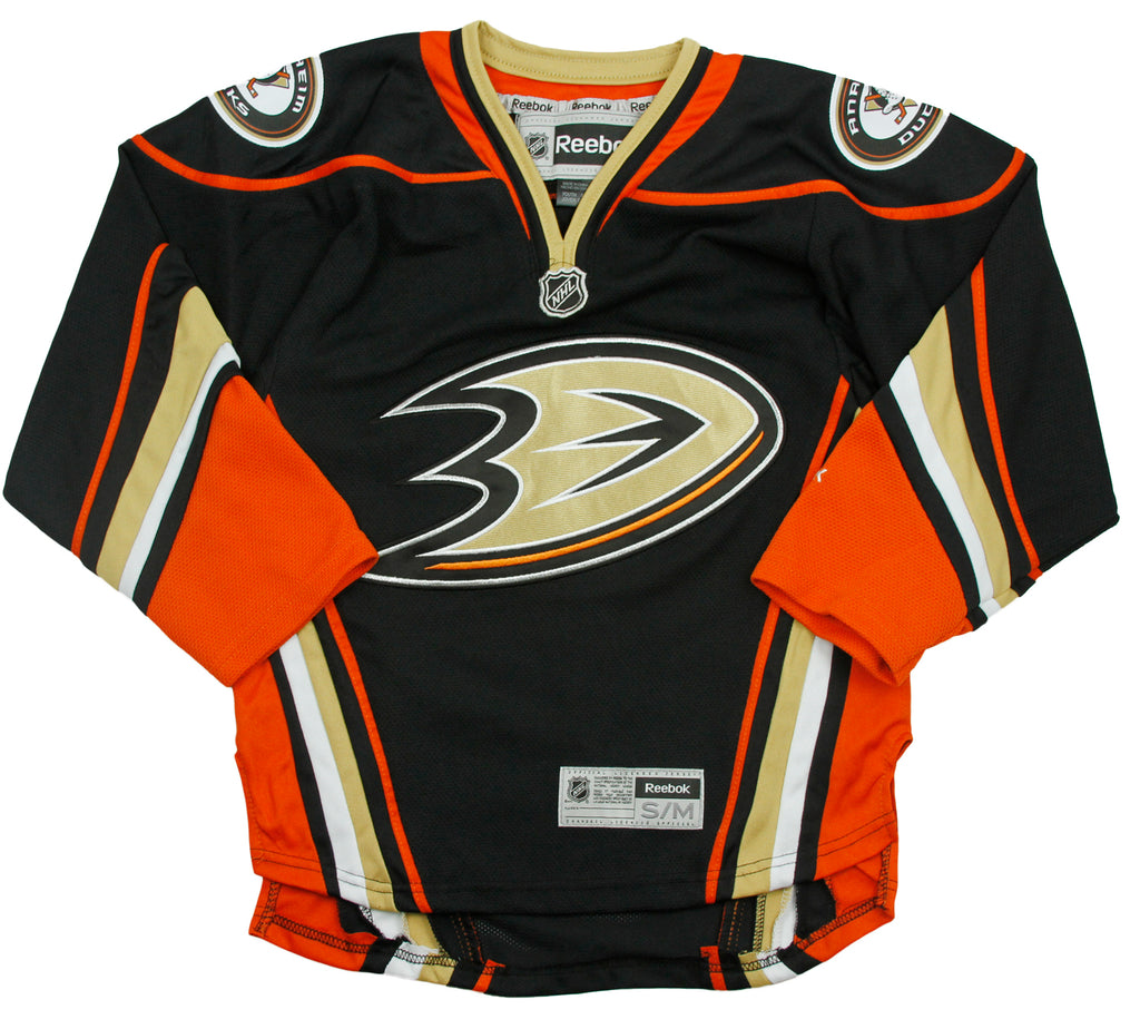 131f7438d40 Reebok NHL Hockey Youth Anaheim Ducks Alternate Premier Jersey - Black
