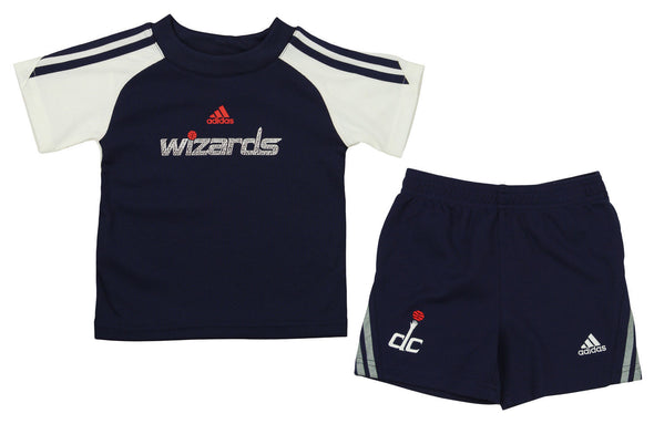 Adidas NBA Infant Washington Wizards Slam Dunk Short Set , Navy