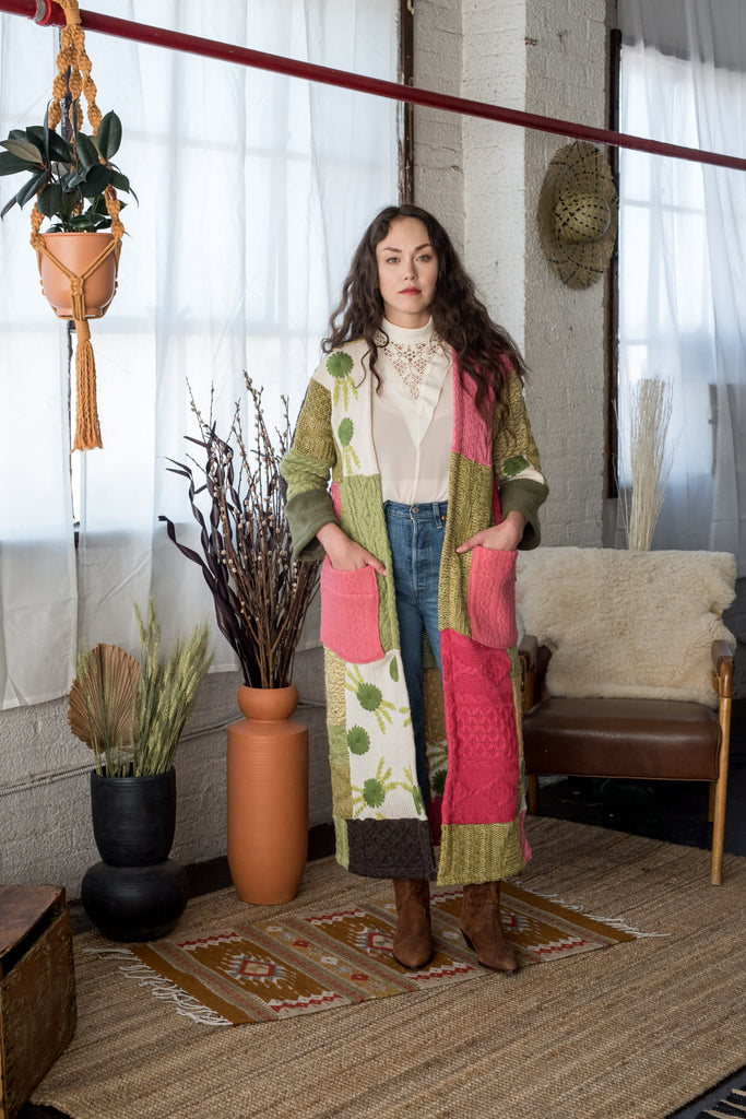 Big Love Patchwork Duster