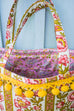Vintage Tapestry Basket Bag
