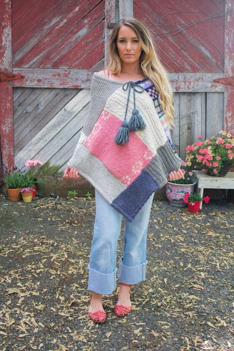 Northern Lights Summer Poncho