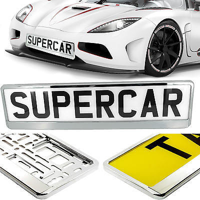 TAPORT CAR NUMBER PLATE HOLDERS