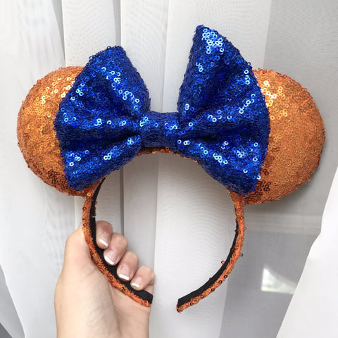 Gator Sequin Minnie Mouse Ears (UF)
