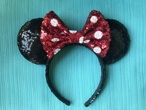 Classic Minnie Mouse Ears