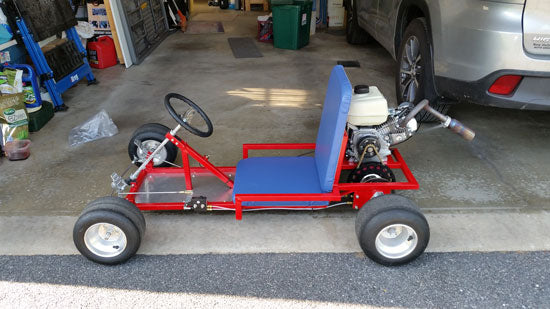 Fun Kart with Built 200cc Engine