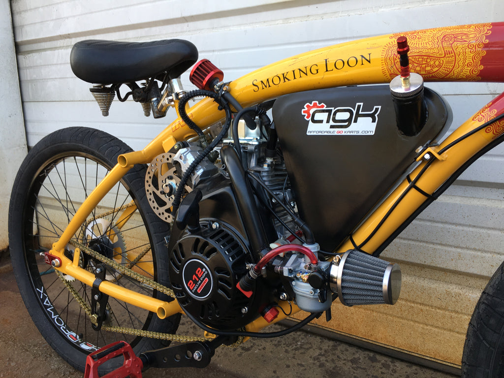 AGK's Custom Built 212cc Smoking Loon