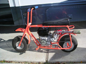 Curt's mini bike.
