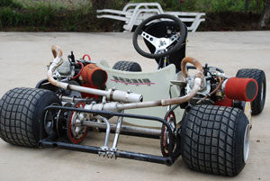 Twin Engine Go Kart