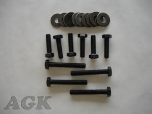 Grade 10.9 Bolt Kit With Washers & Dowel Pins