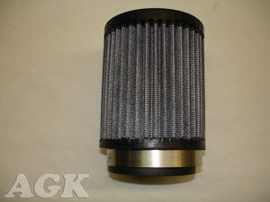 "Air Filter K&N Fabric Style, 2 7/16"" ID"