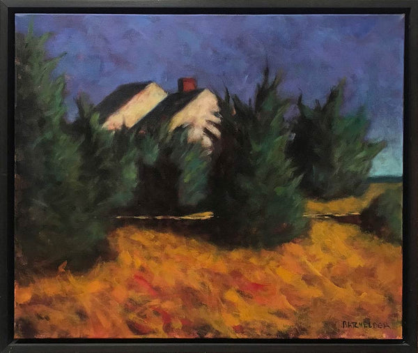 """Cedar Grove"" original oil"