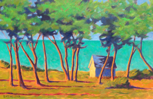 """Trees at West Chop"" Print Sale"