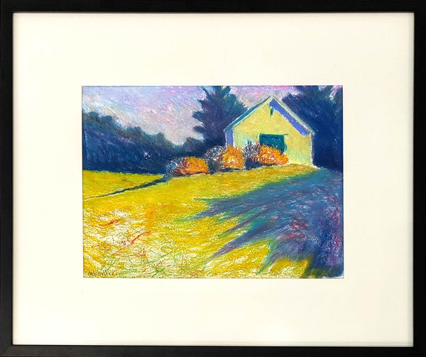 """Low Meadow (pastel study)"""