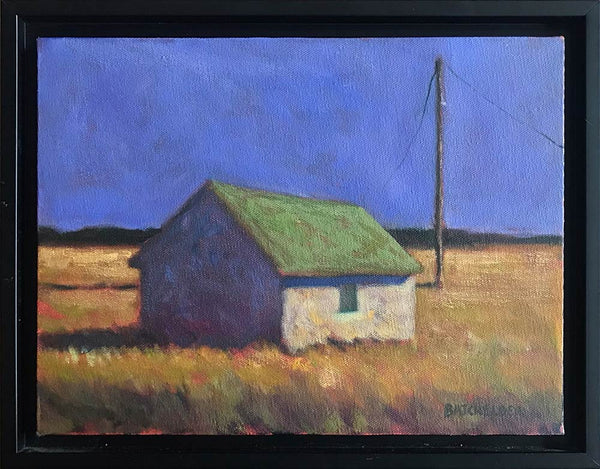 """Marsh Cottage"" original oil on canvas"