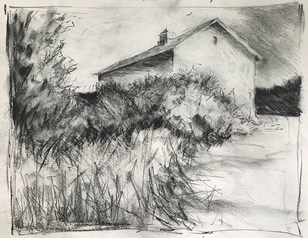 "Charcoal study for ""Better Day"""