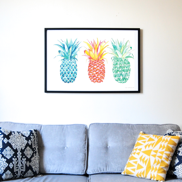 ALL IN ONE - Pineapple Print