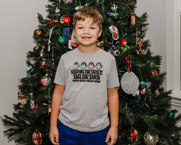 Keeping the Streets Safe for Santa © - Toddler/Youth T-Shirt