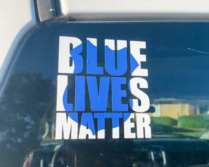 Blue Lives Matter - Decal