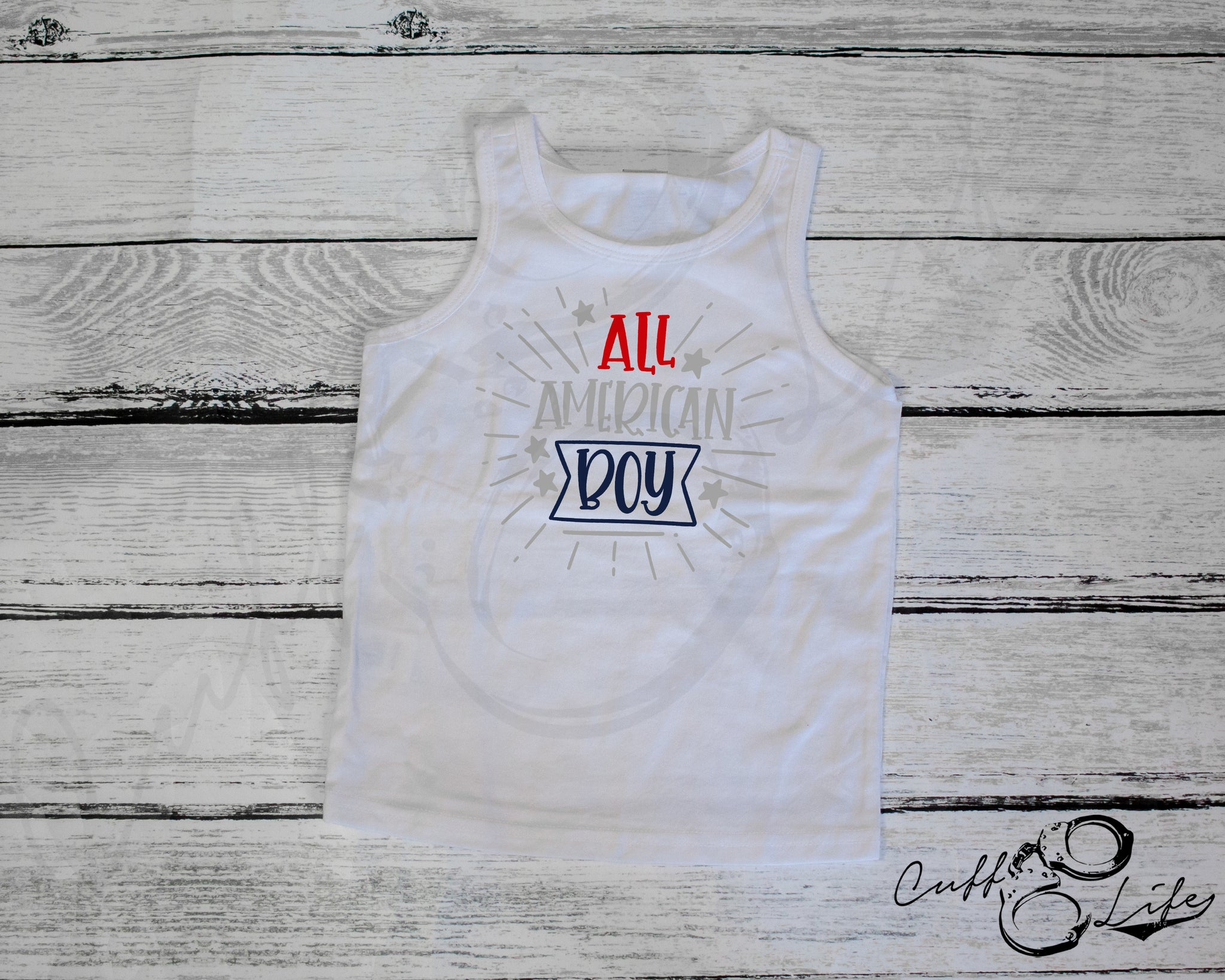 All American Boy - Toddler/Youth Tank
