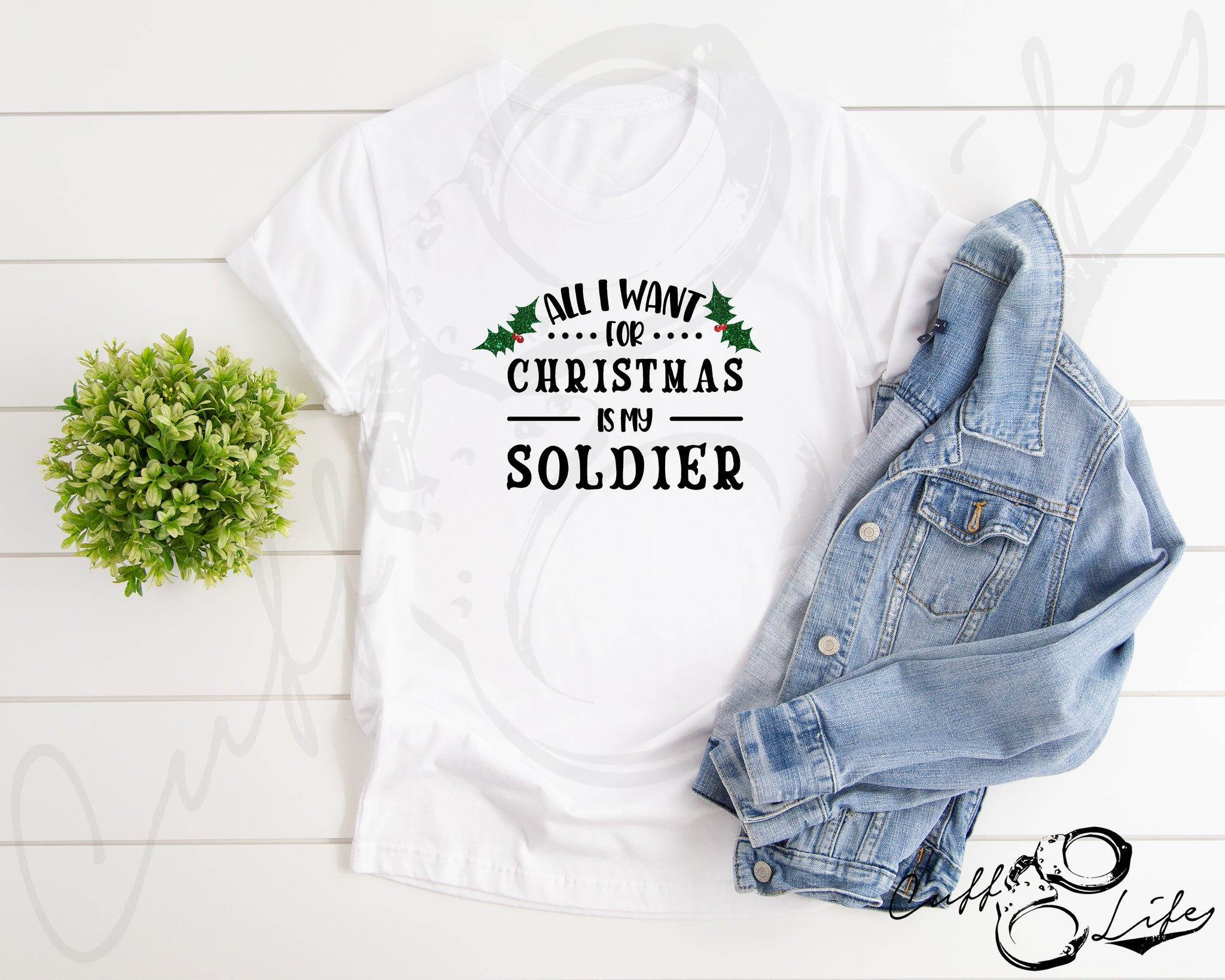 All I Want for Christmas is My Soldier - Unisex T-Shirt