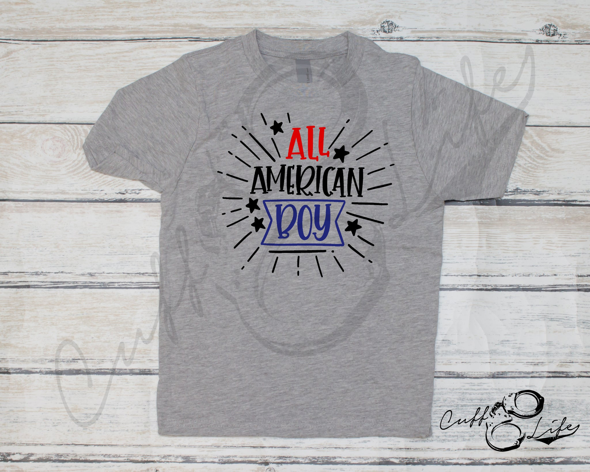 All American Boy - Toddler/Youth T-Shirt