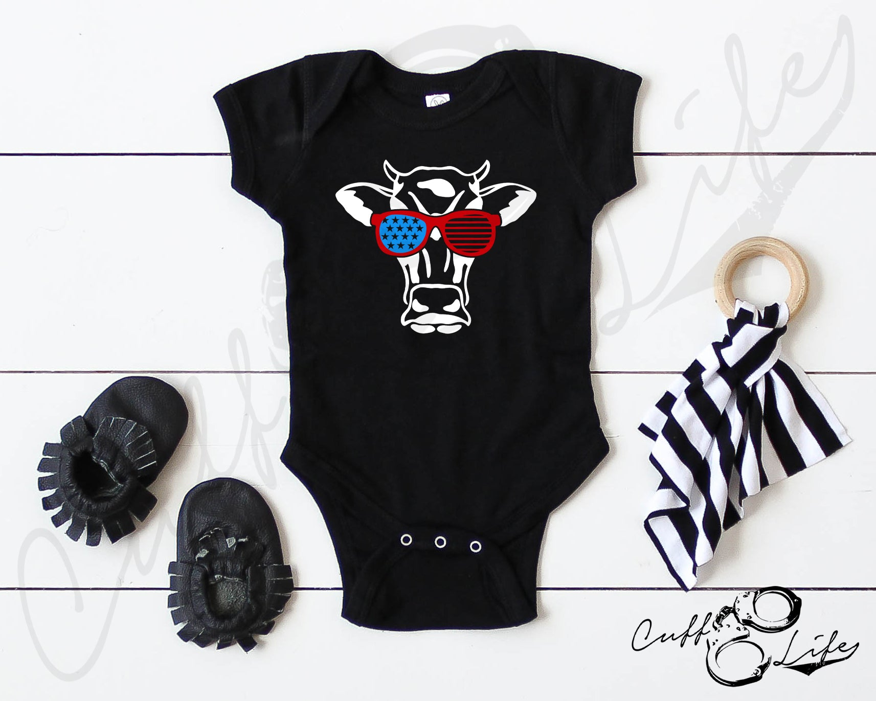 American Cow - Infant Bodysuit