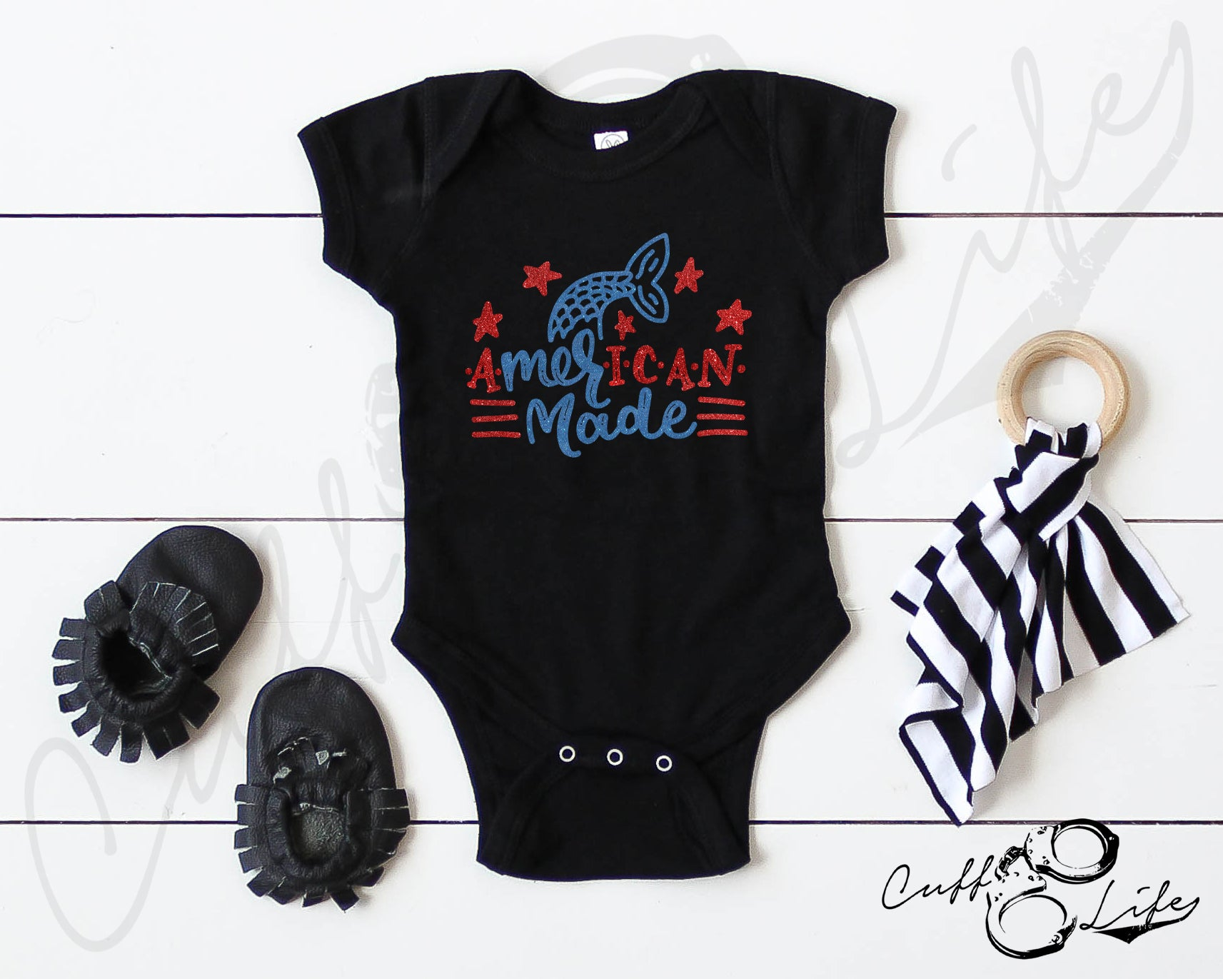 American Made - Infant Bodysuit