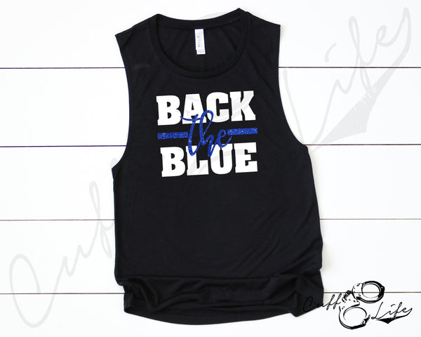 Back the Blue © - Muscle Tank