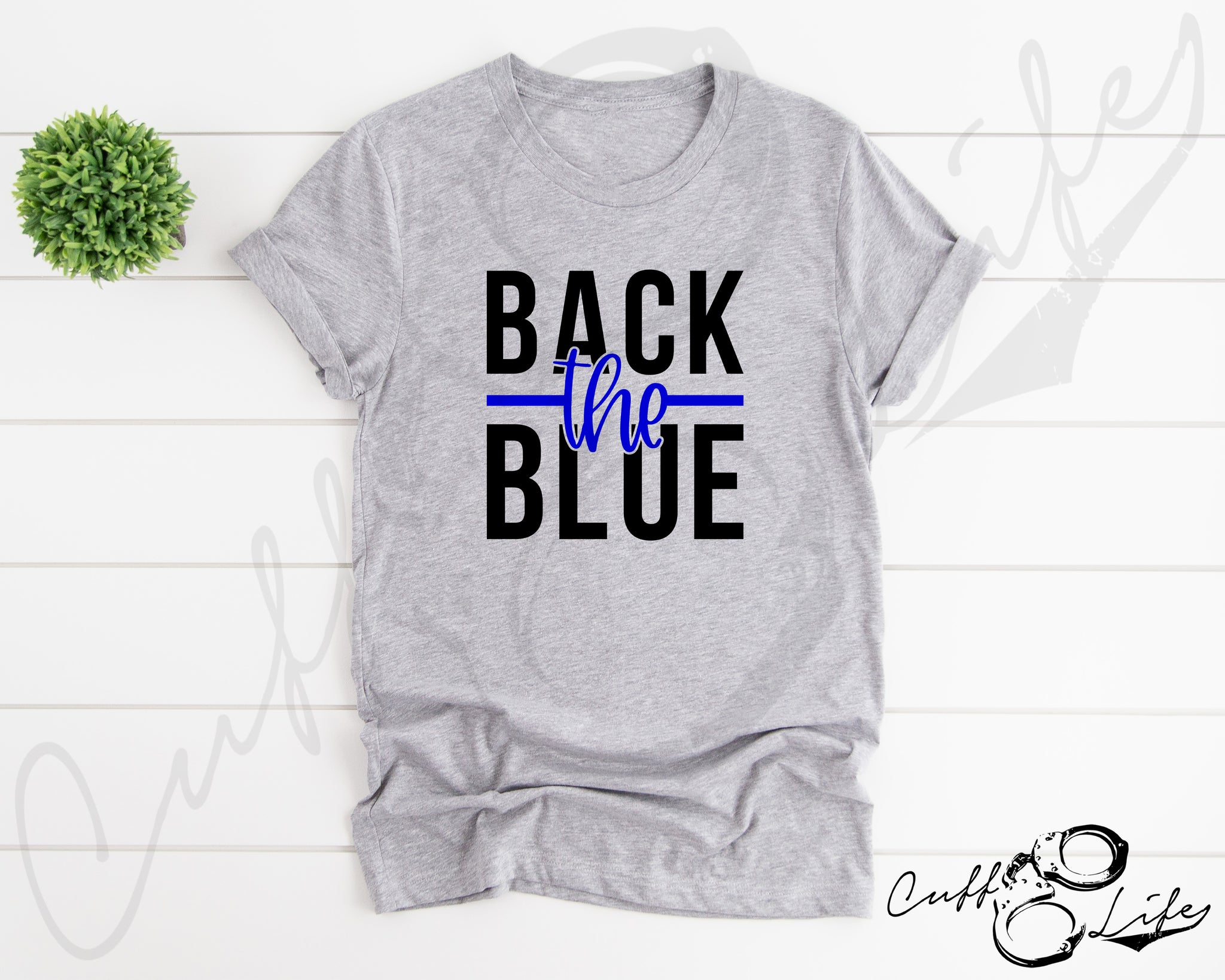 Back the Blue NEW © - Unisex T-Shirt