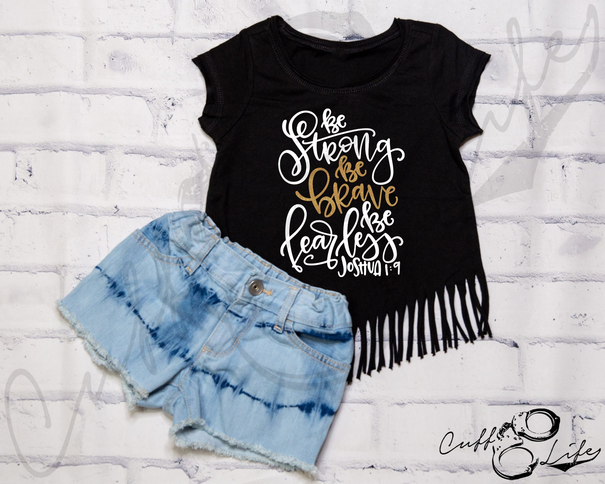 Be Strong Be Brave Be Fearless TGL - Fringe Tee