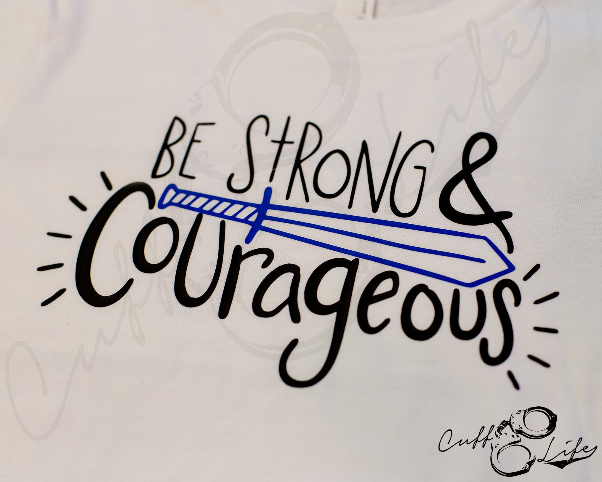 Be Strong and Courageous - Toddler/Youth T-Shirt