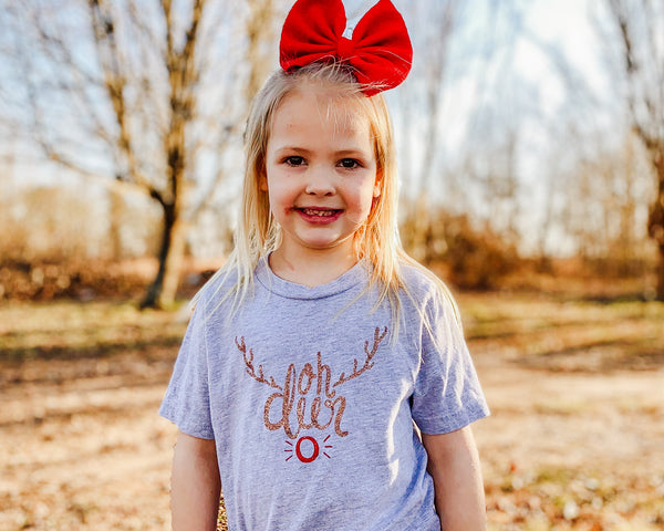 Oh Deer (Rudolph) - Toddler/Youth T-Shirt