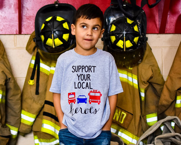 Support Your Local Heroes - Toddler/Youth T-Shirt