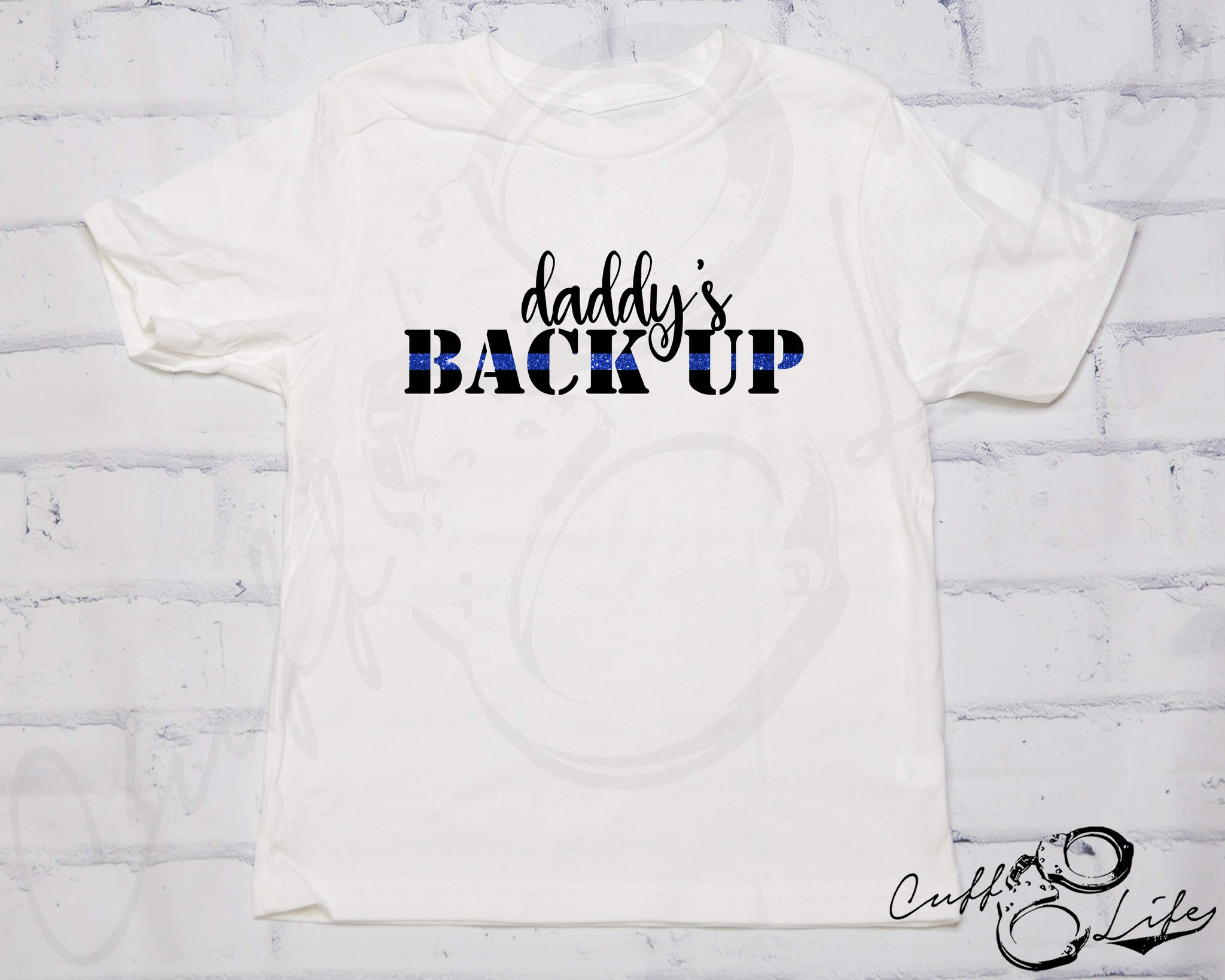 Daddy's Back Up © - Toddler/Youth T-Shirt
