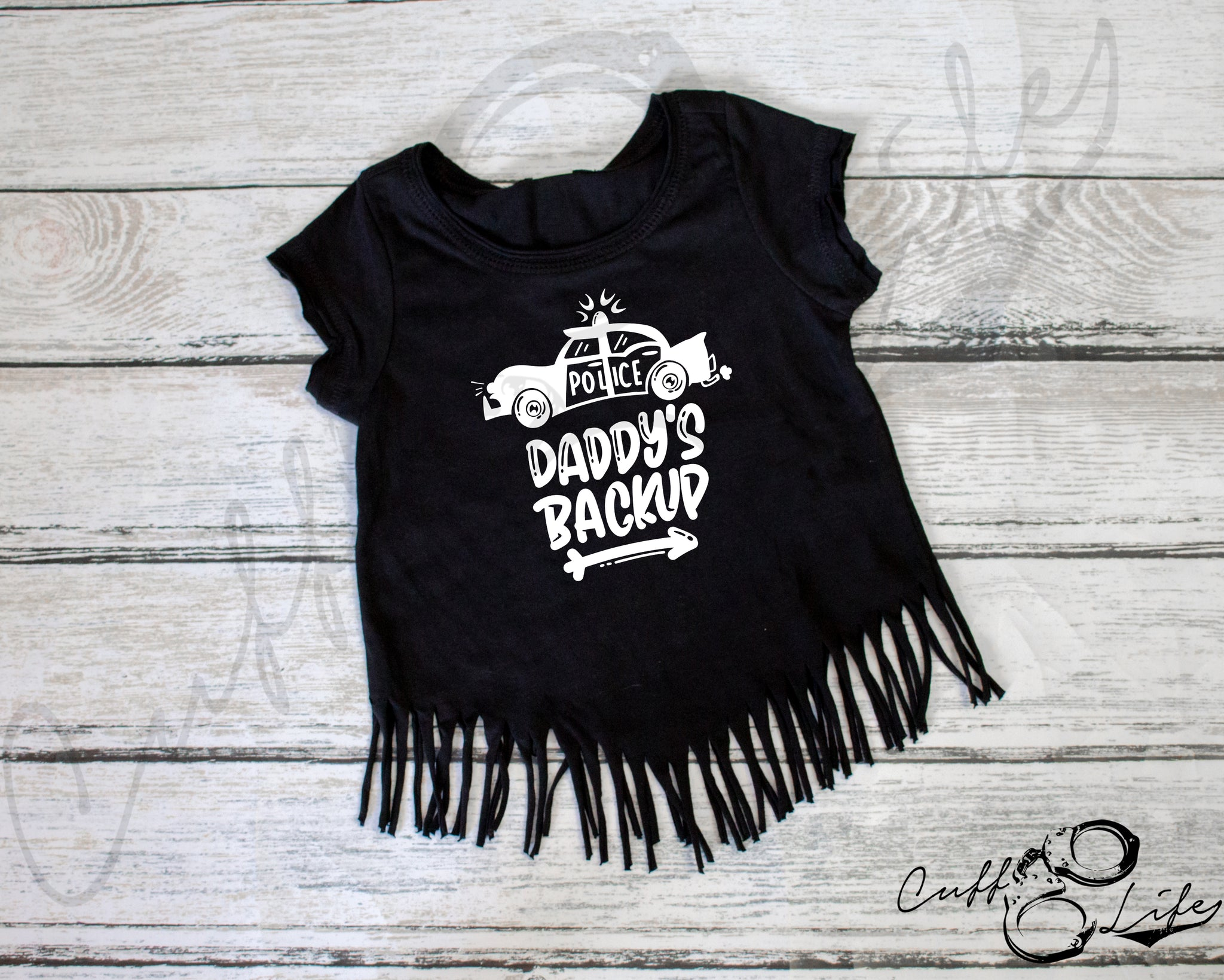 Daddy's Back Up (Car) - Fringe Tee