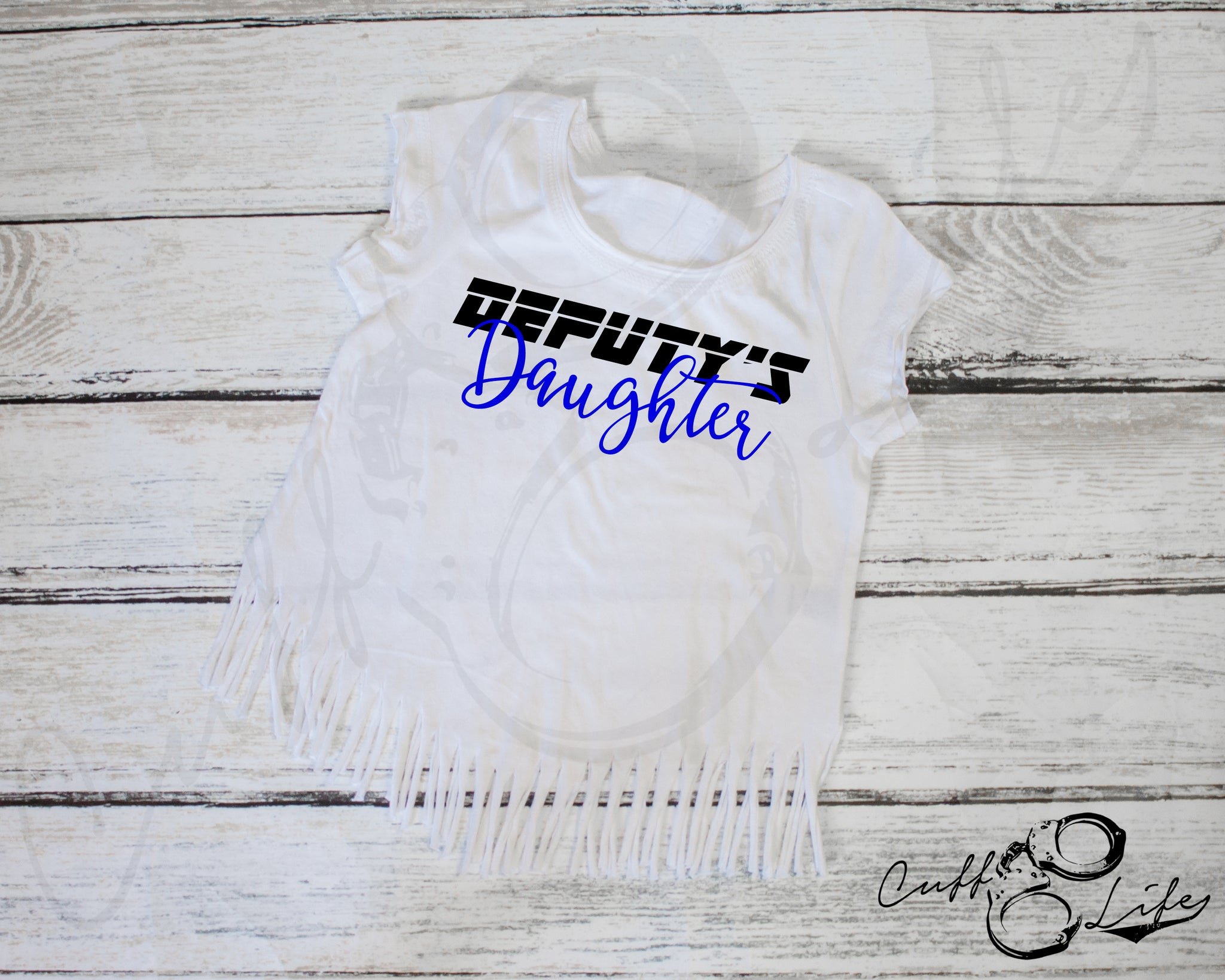 Deputy's Daughter © - Fringe Tee