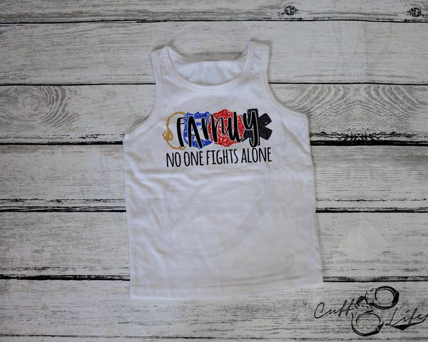 FAMILY No One Fights Alone © - Tank Top