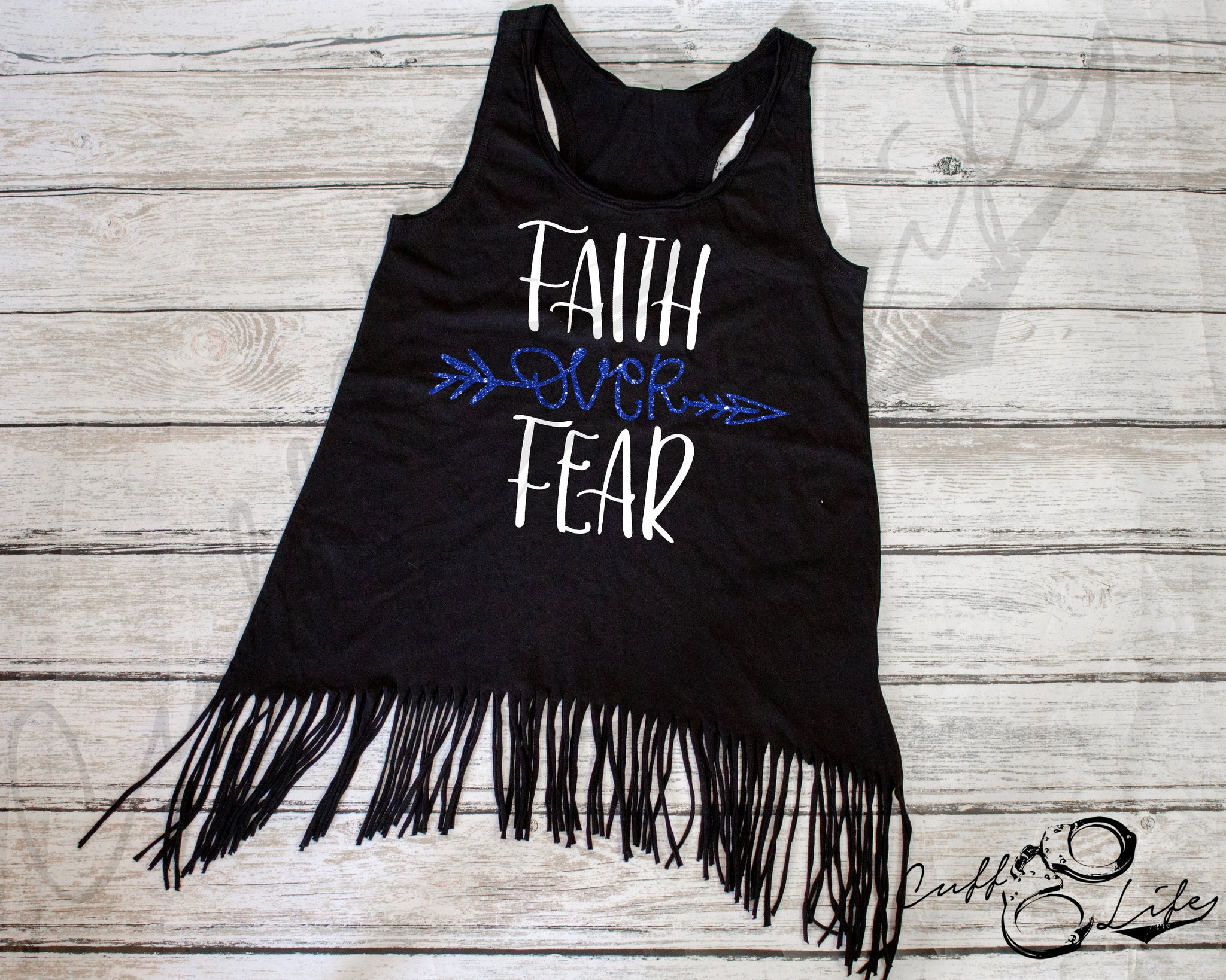 Faith Over Fear - Fringe Tank