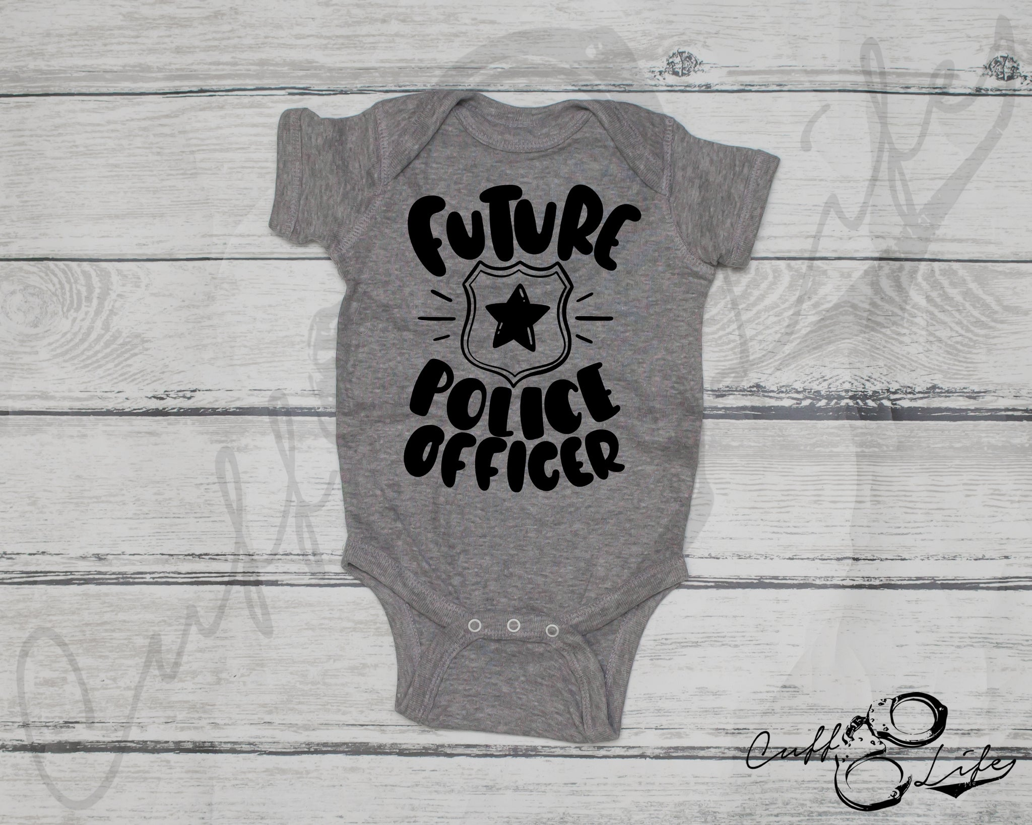 Future Police Officer - Infant Bodysuit